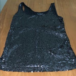 Old navy sequin tank top